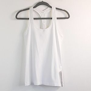 Lululemon Cool Racerback Tank Top White 8 NWT